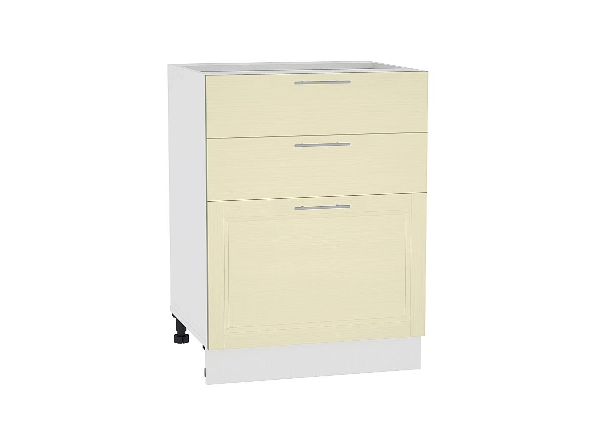 Шкаф нижний с 3-мя ящиками Сканди 600