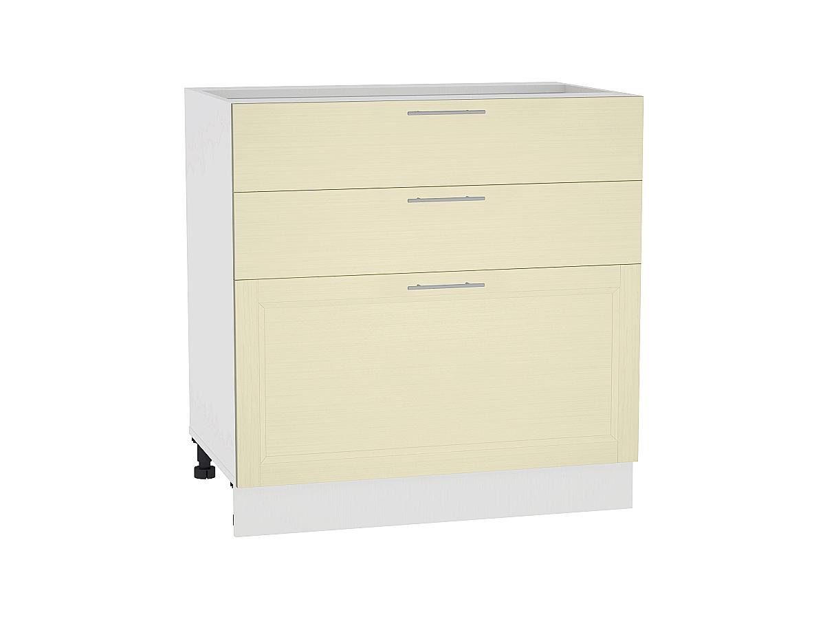 Шкаф нижний с 3-мя ящиками Сканди 800
