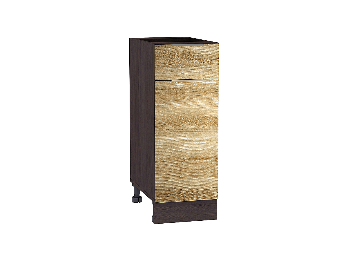 Шкаф нижний с 1-ой дверцей и ящиком Терра W 300 ВОЛНА