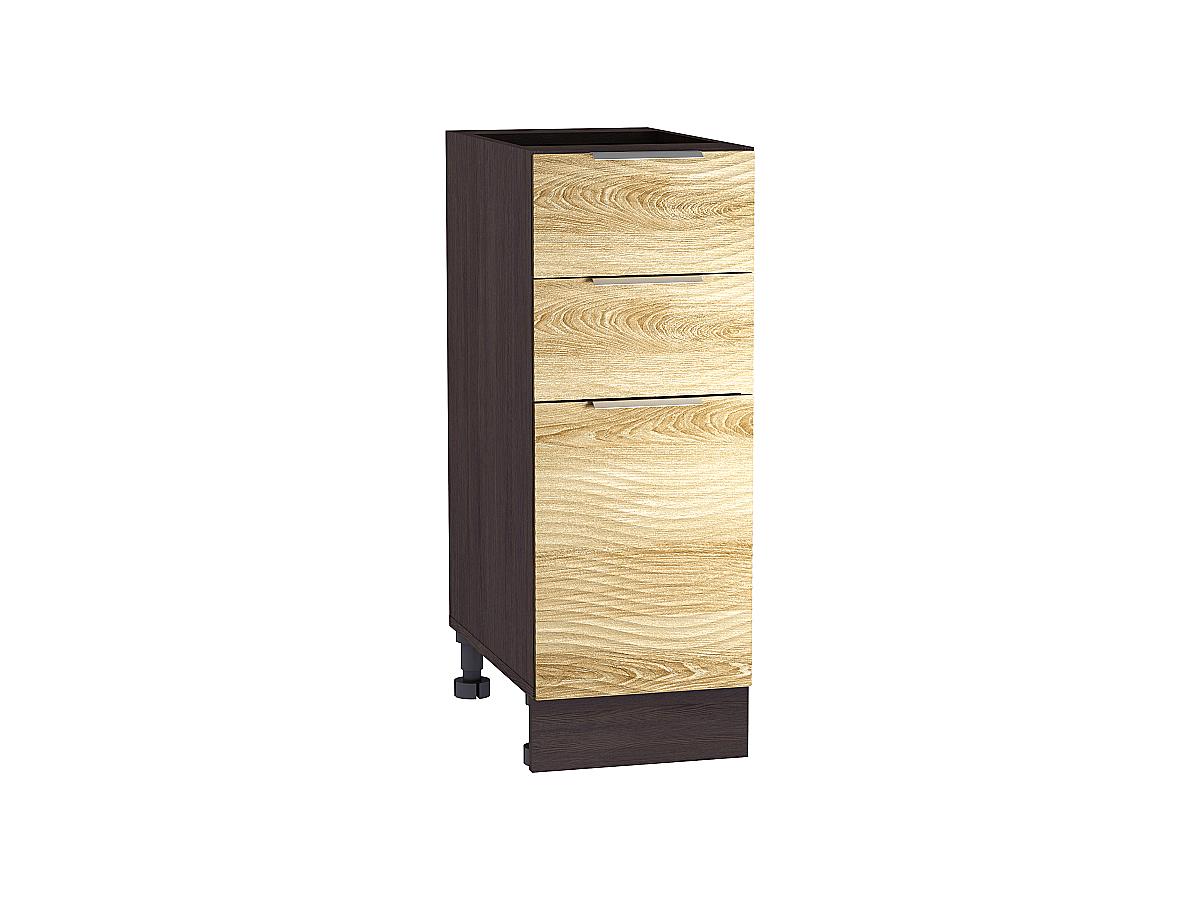 Шкаф нижний с 3-мя ящиками Терра W 400 ВОЛНА