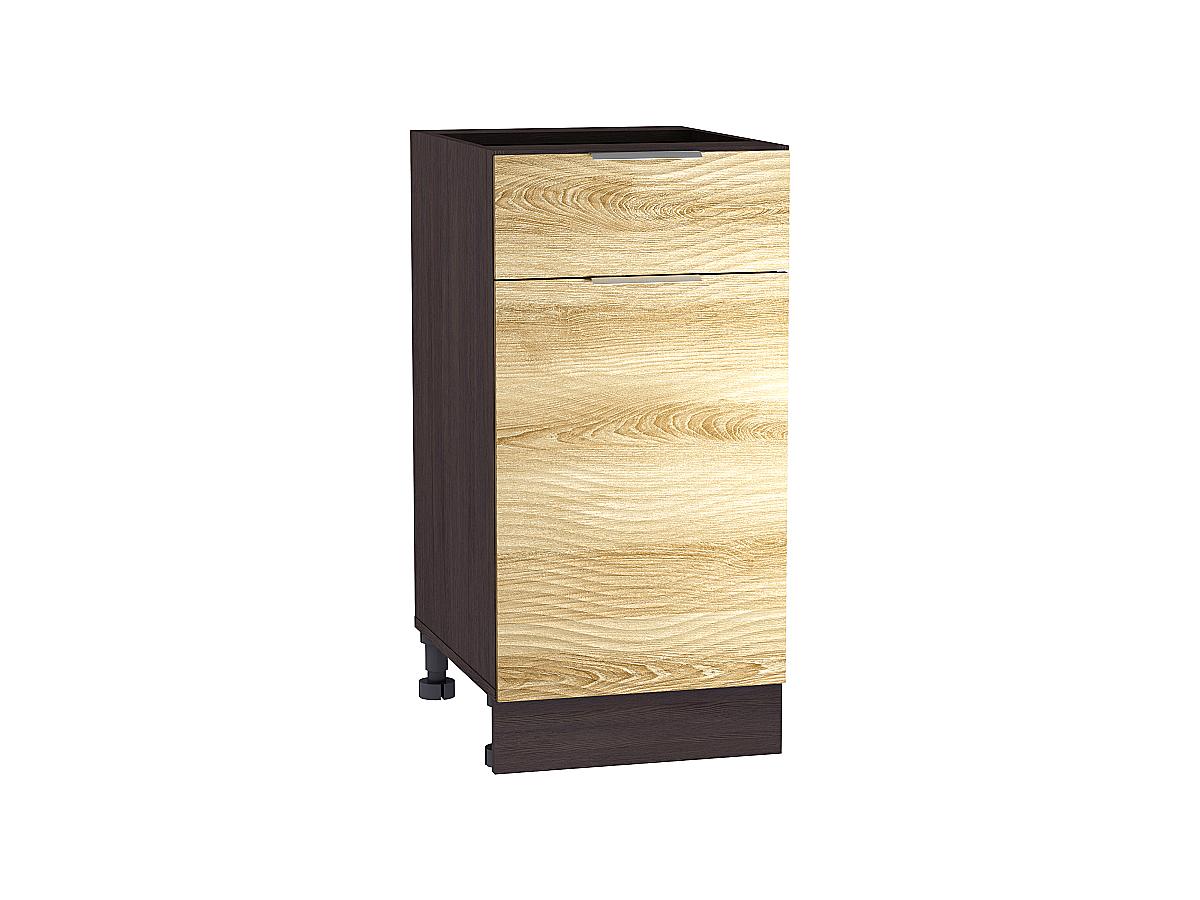 Шкаф нижний с 1-ой дверцей и ящиком Терра W 400 ВОЛНА