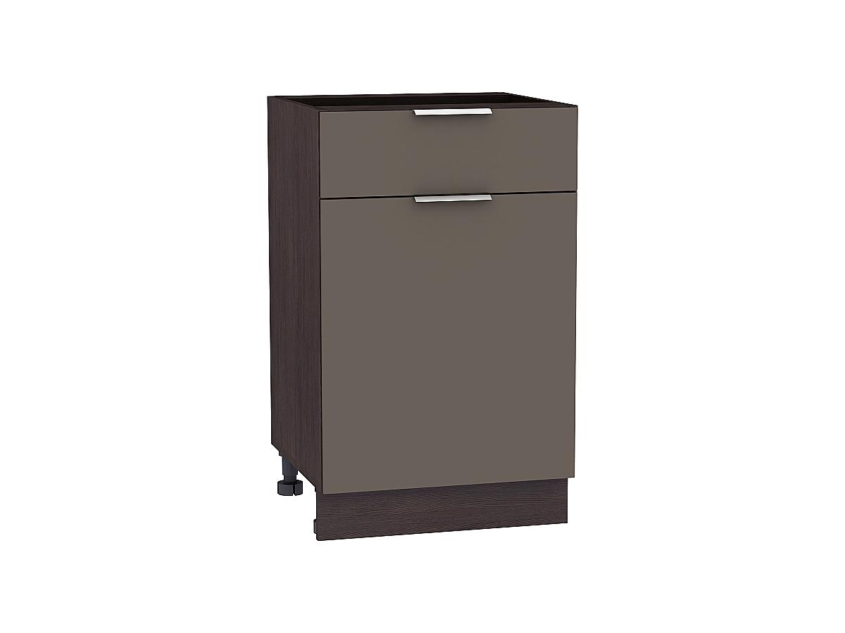 Шкаф нижний с 1-ой дверцей и ящиком Терра 500
