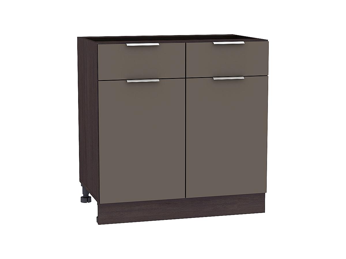 Шкаф нижний с 2-мя дверцами и 2-мя ящиками Терра 800