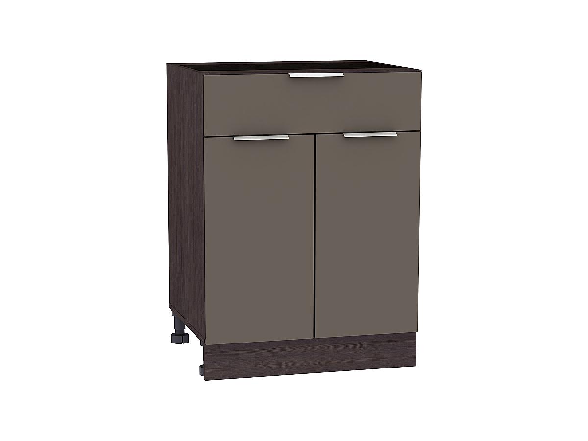 Шкаф нижний с 2-мя дверцами и ящиком Терра 600