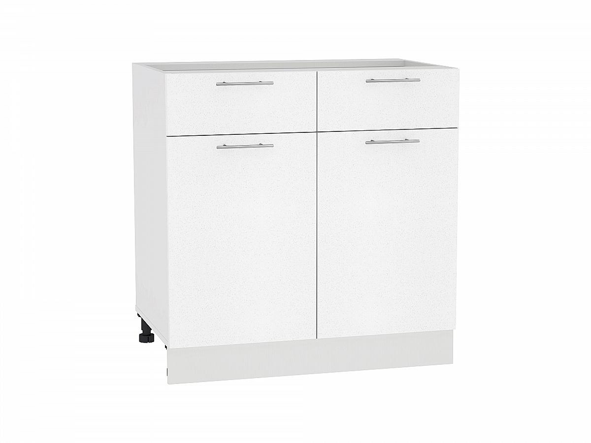 Шкаф нижний с 2-мя дверцами и 2-мя ящиками Валерия-М 800