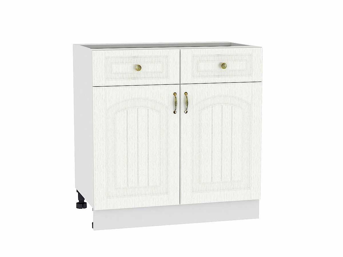 Шкаф нижний с 2-мя дверцами и 2-мя ящиками Верона 800
