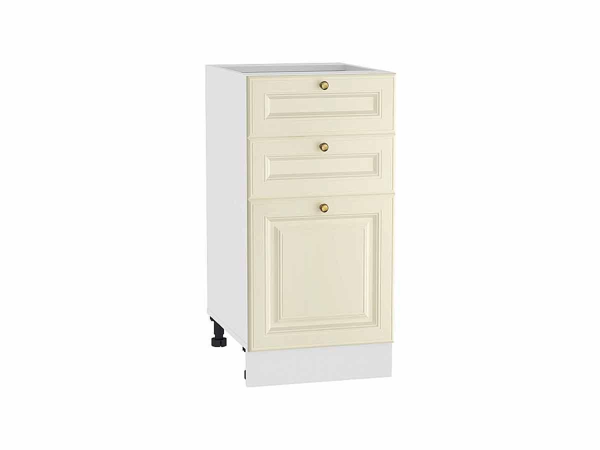 Шкаф нижний с 3-мя ящиками Версаль 400