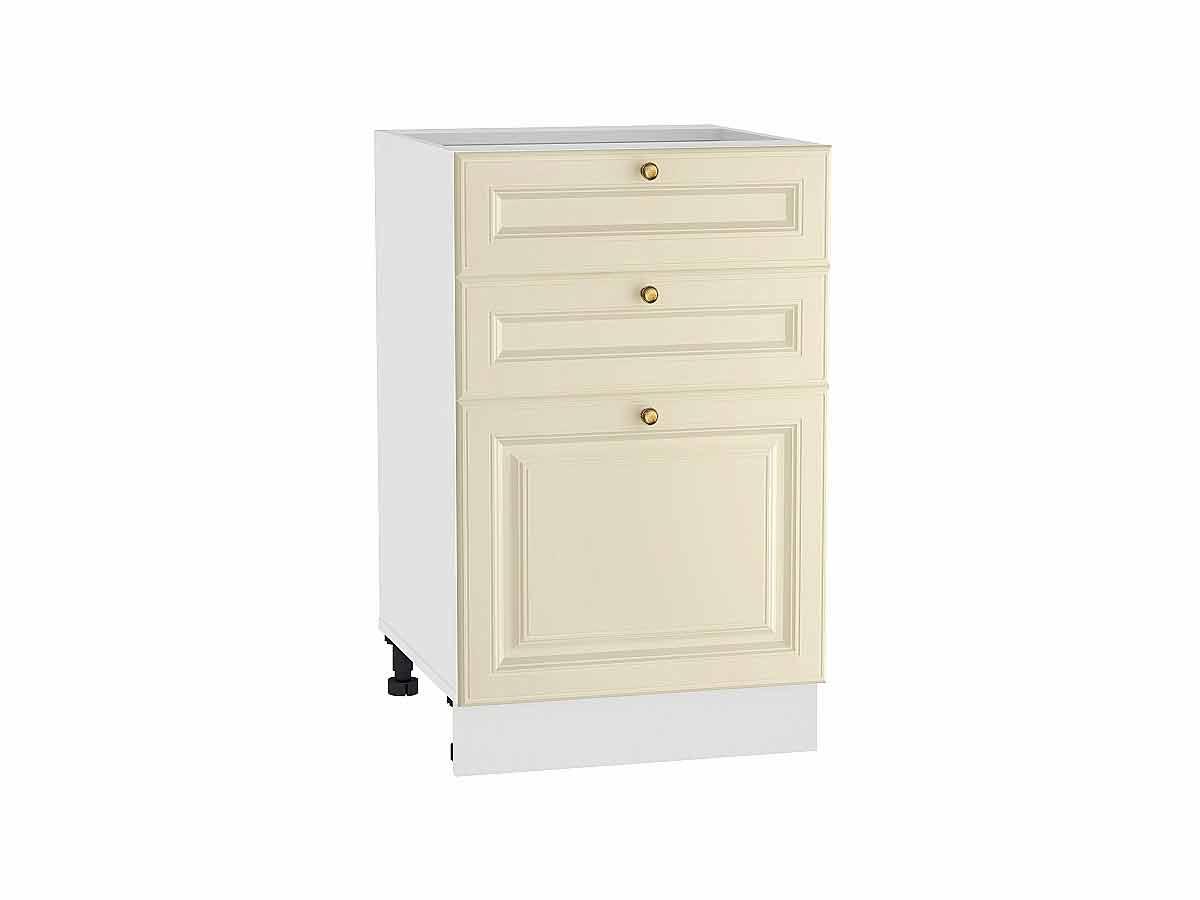 Шкаф нижний с 3-мя ящиками Версаль 500