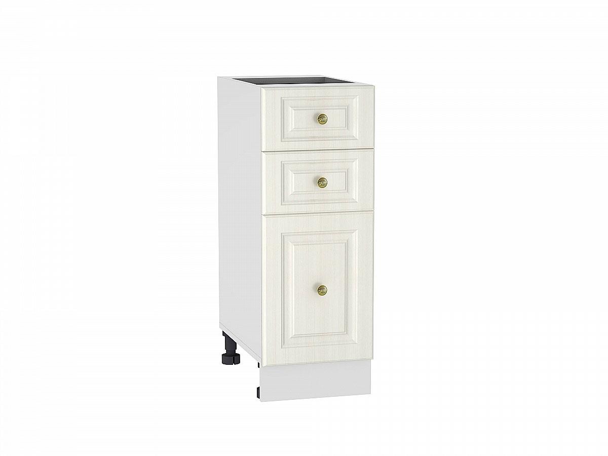 Шкаф нижний с 3-мя ящиками Виктория/300