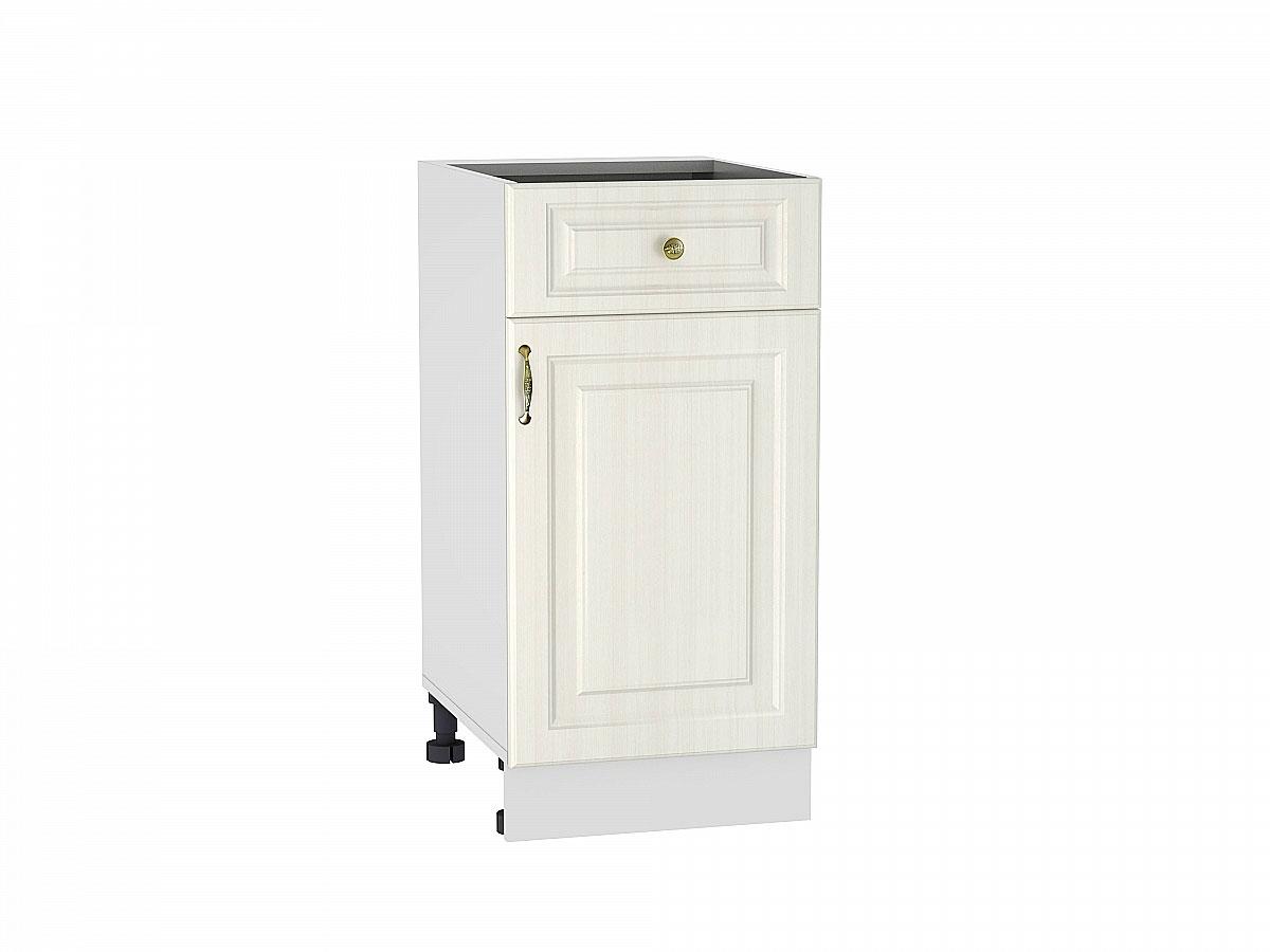 Шкаф нижний с 1-ой дверцей и ящиком Виктория/400