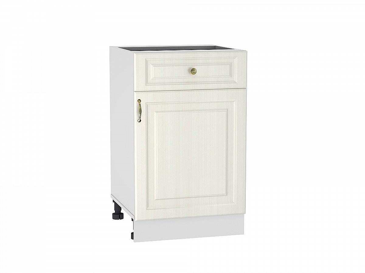 Шкаф нижний с 1-ой дверцей и ящиком Виктория/500