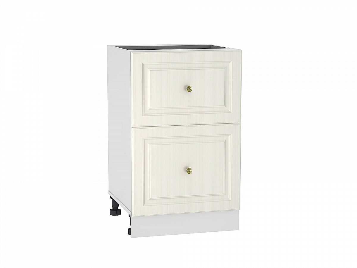 Шкаф нижний с 2-мя ящиками Виктория/500