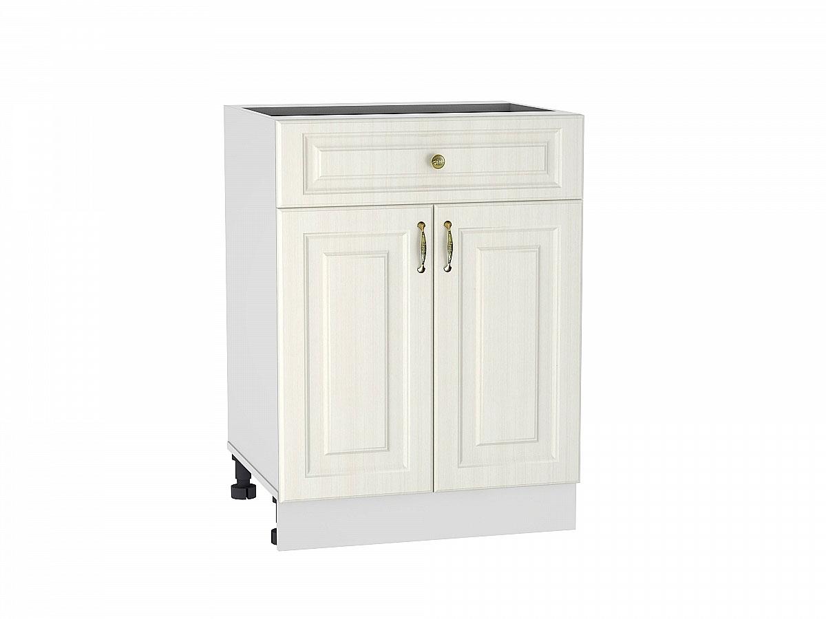 Шкаф нижний с 2-мя дверцами и ящиком Виктория 600