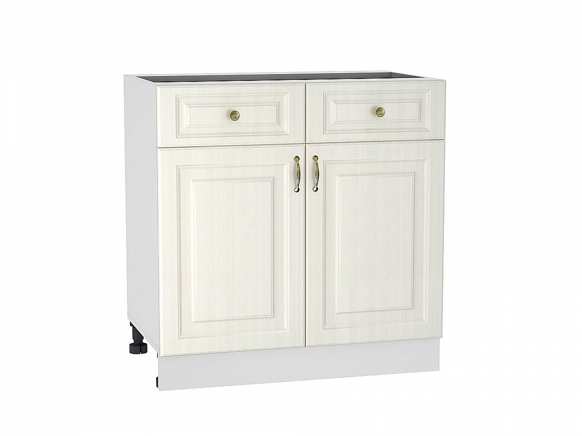 Шкаф нижний с 2-мя дверцами и 2-мя ящиками Виктория/800