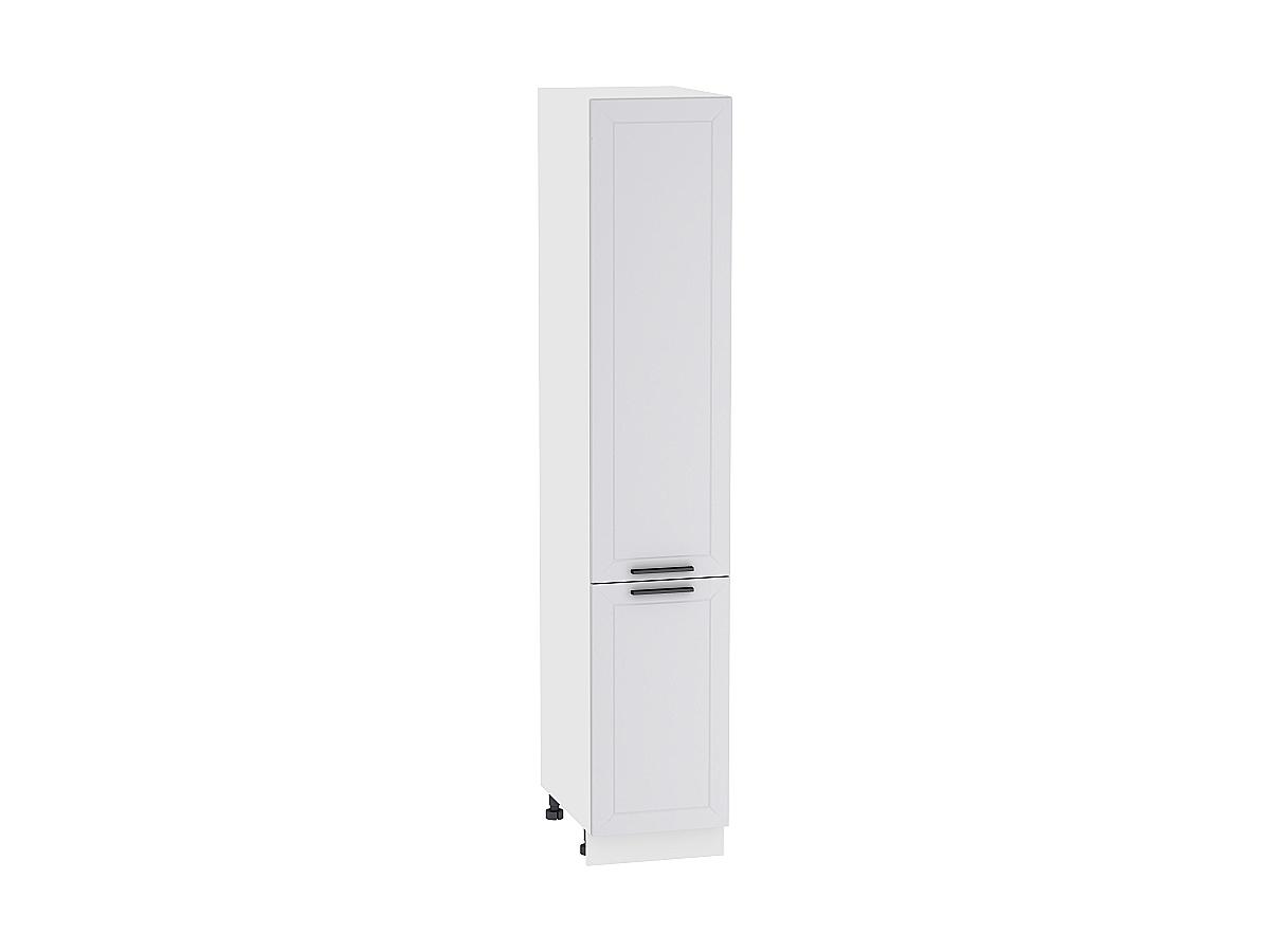 Шкаф пенал с 2-мя дверцами Глетчер 400Н (для верхних шкафов высотой 920)