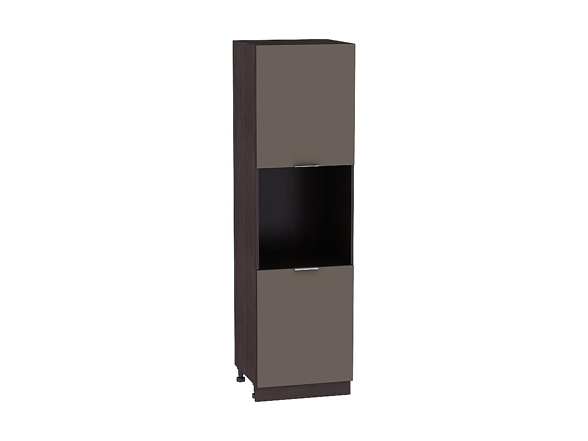 Шкаф пенал под бытовую технику с 2-мя дверцами Терра 600Н (для верхних шкафов высотой 920)