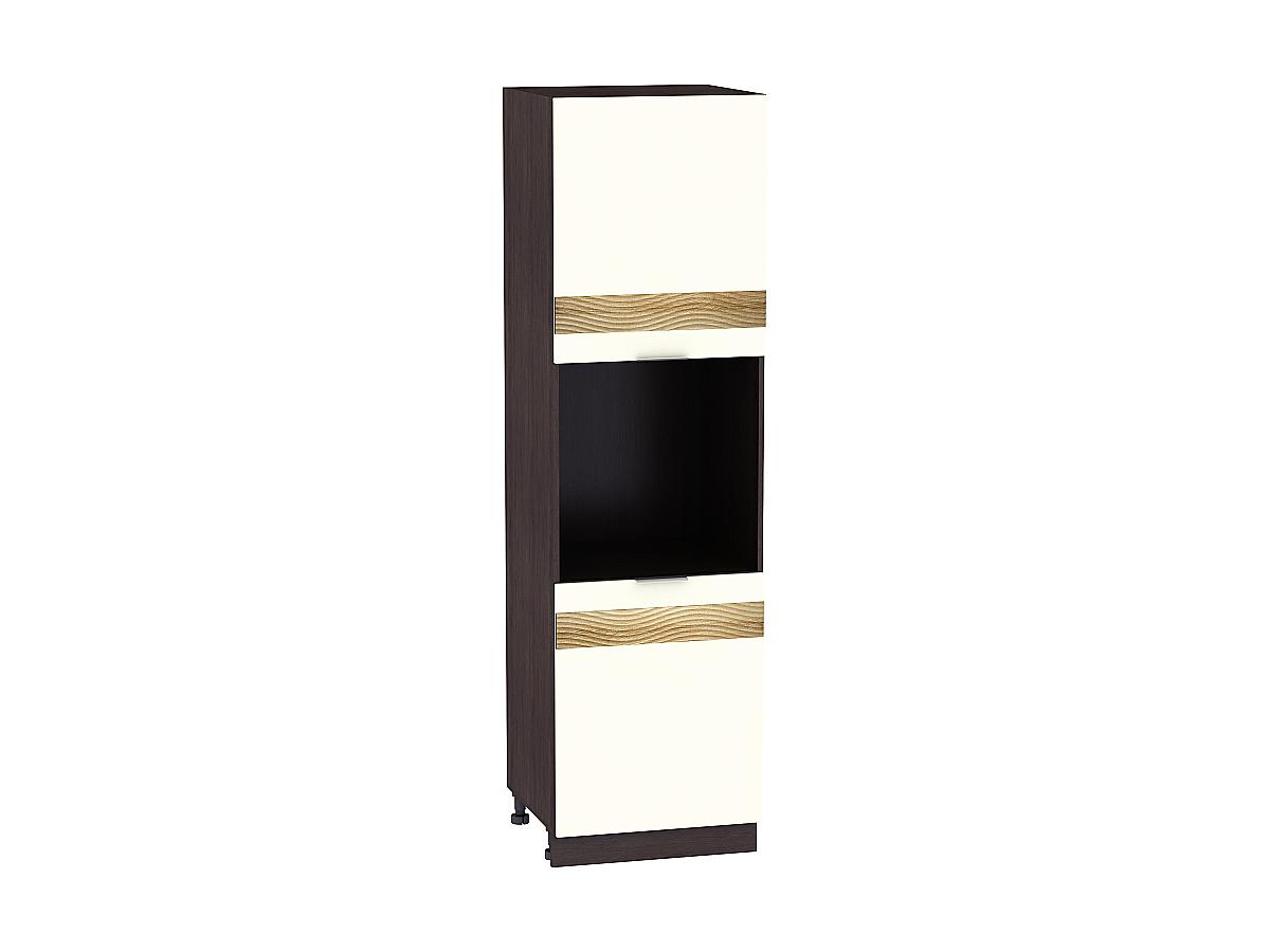Шкаф пенал под бытовую технику с 2-мя дверцами Терра 600Н DR (для верхних шкафов высотой 920) Открывание правое