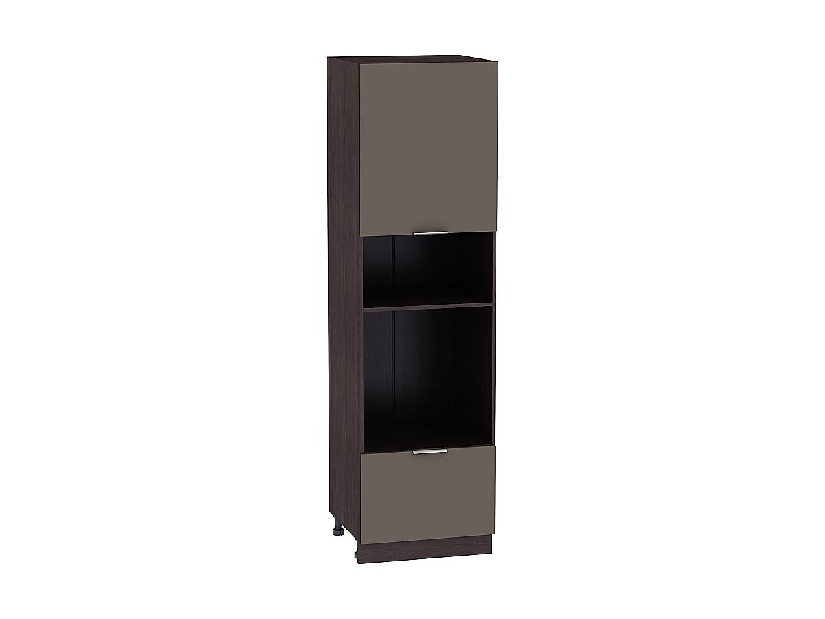 Шкаф пенал под бытовую технику с 2-мя дверцами Терра 606Н (для верхних шкафов высотой 920)