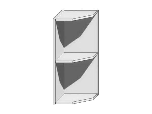 Шкаф верхний торцевой Вита