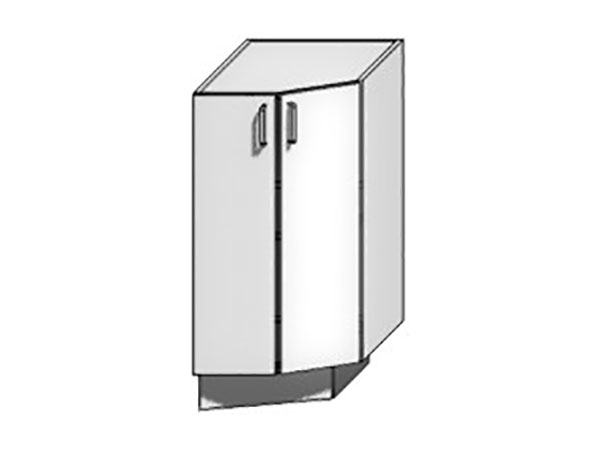 Шкаф нижний торцевой Loft 400
