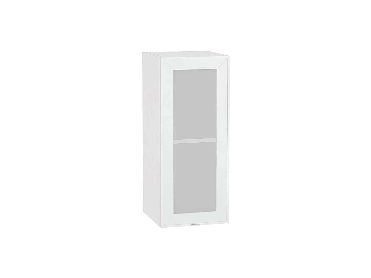 Шкаф верхний с 1-ой остекленной дверцей Фьюжн-AL 300