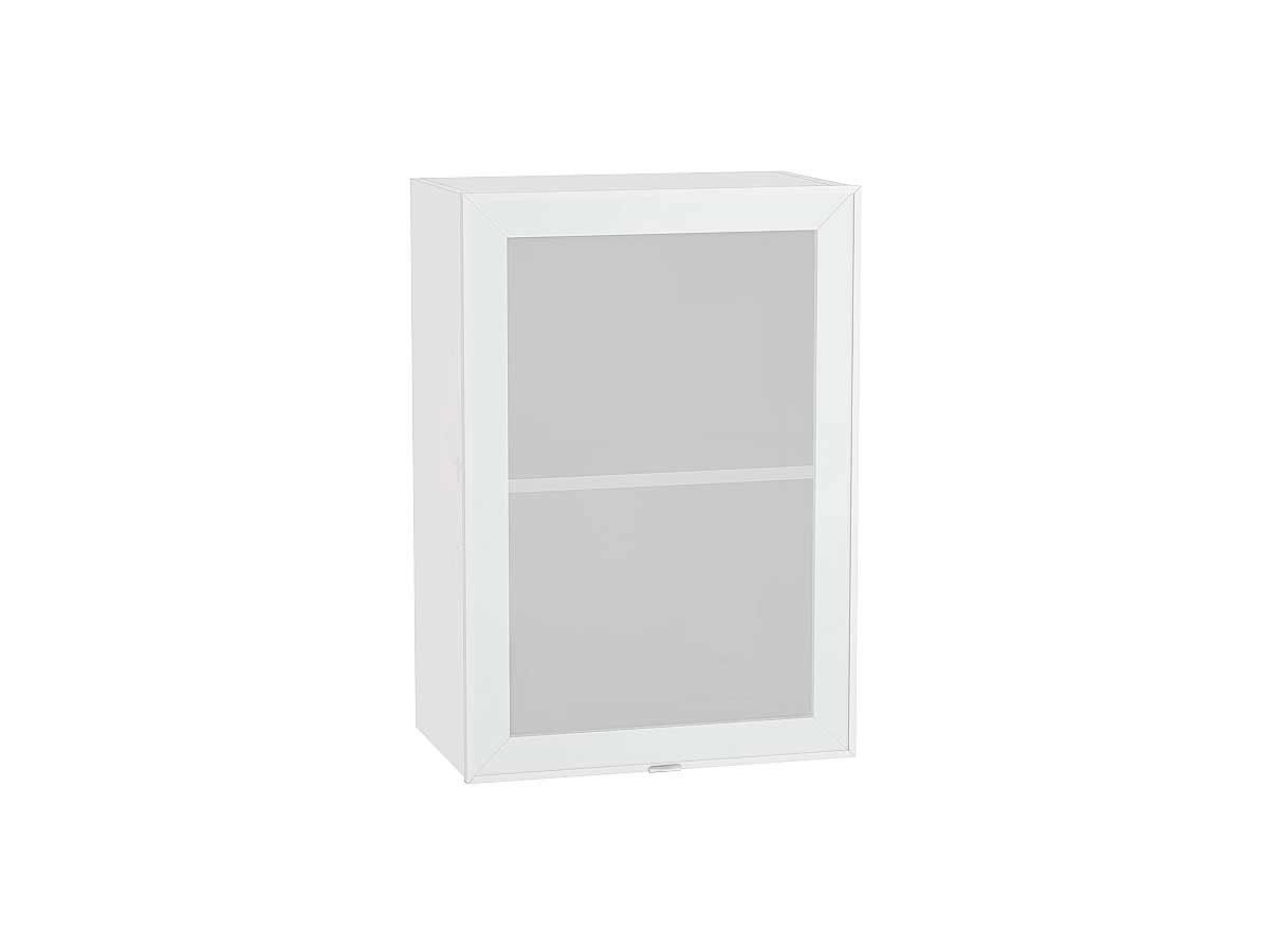 Шкаф верхний с 1-ой остекленной дверцей Фьюжн-AL 500