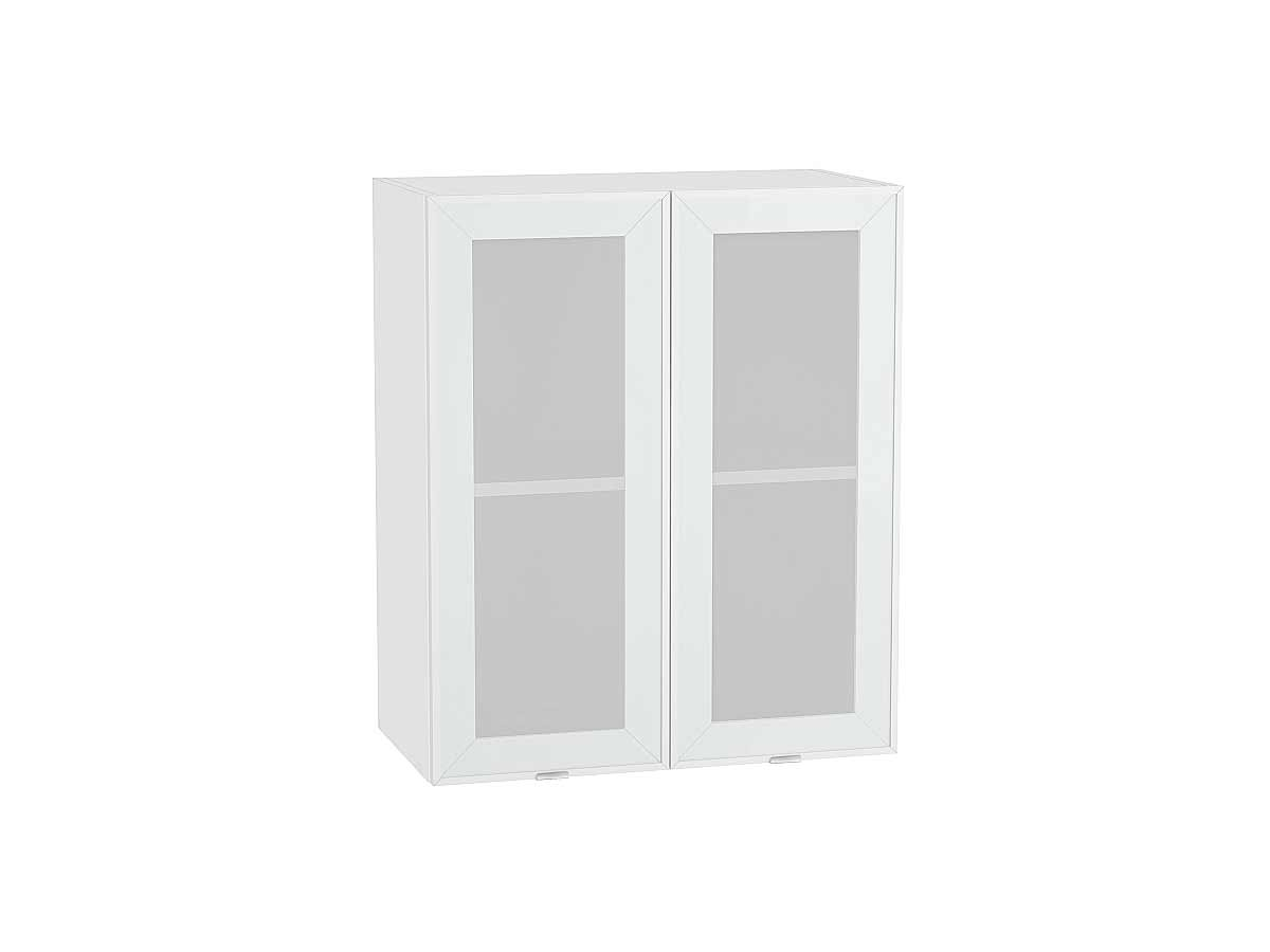 Шкаф верхний с 2-мя остекленными дверцами Фьюжн-AL 600