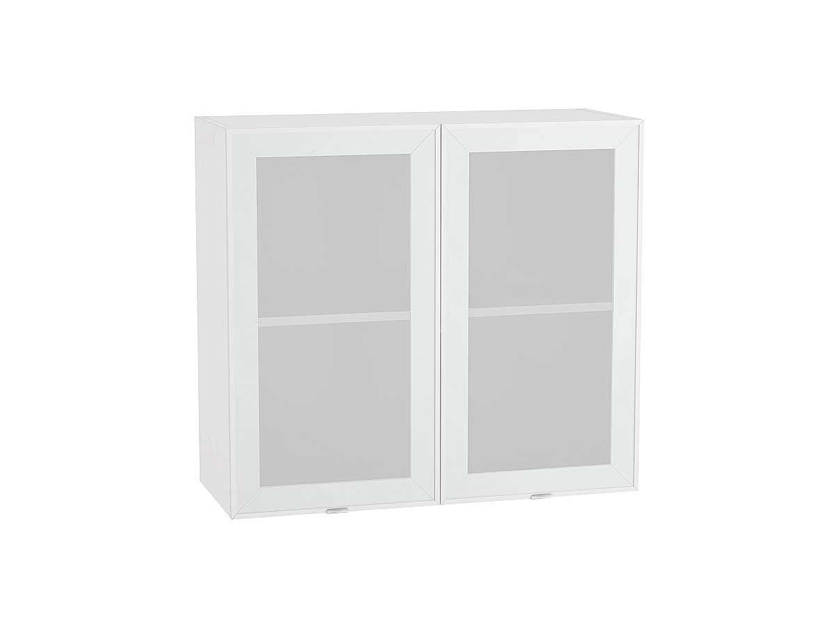 Шкаф верхний с 2-мя остекленными дверцами Фьюжн-AL 800
