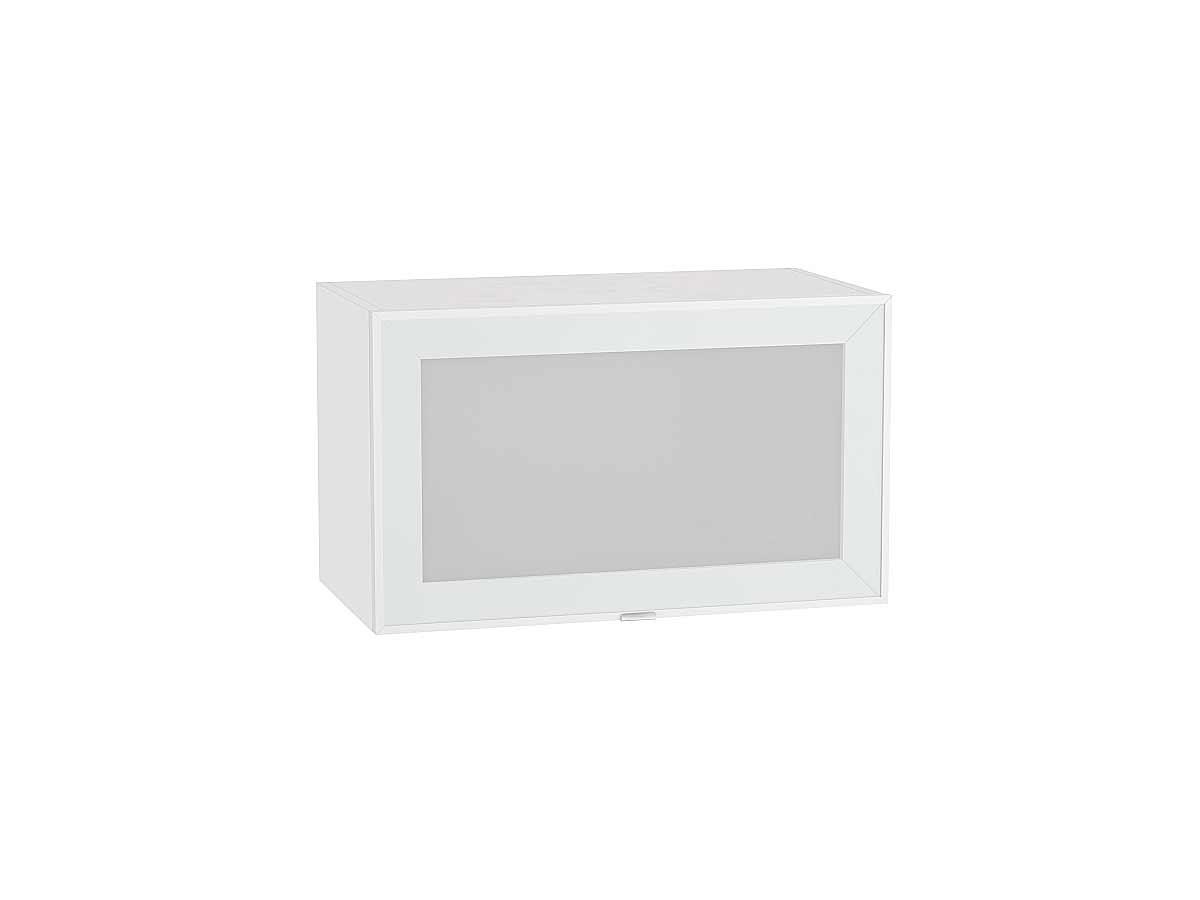 Шкаф верхний горизонтальный остекленный Фьюжн-AL 600