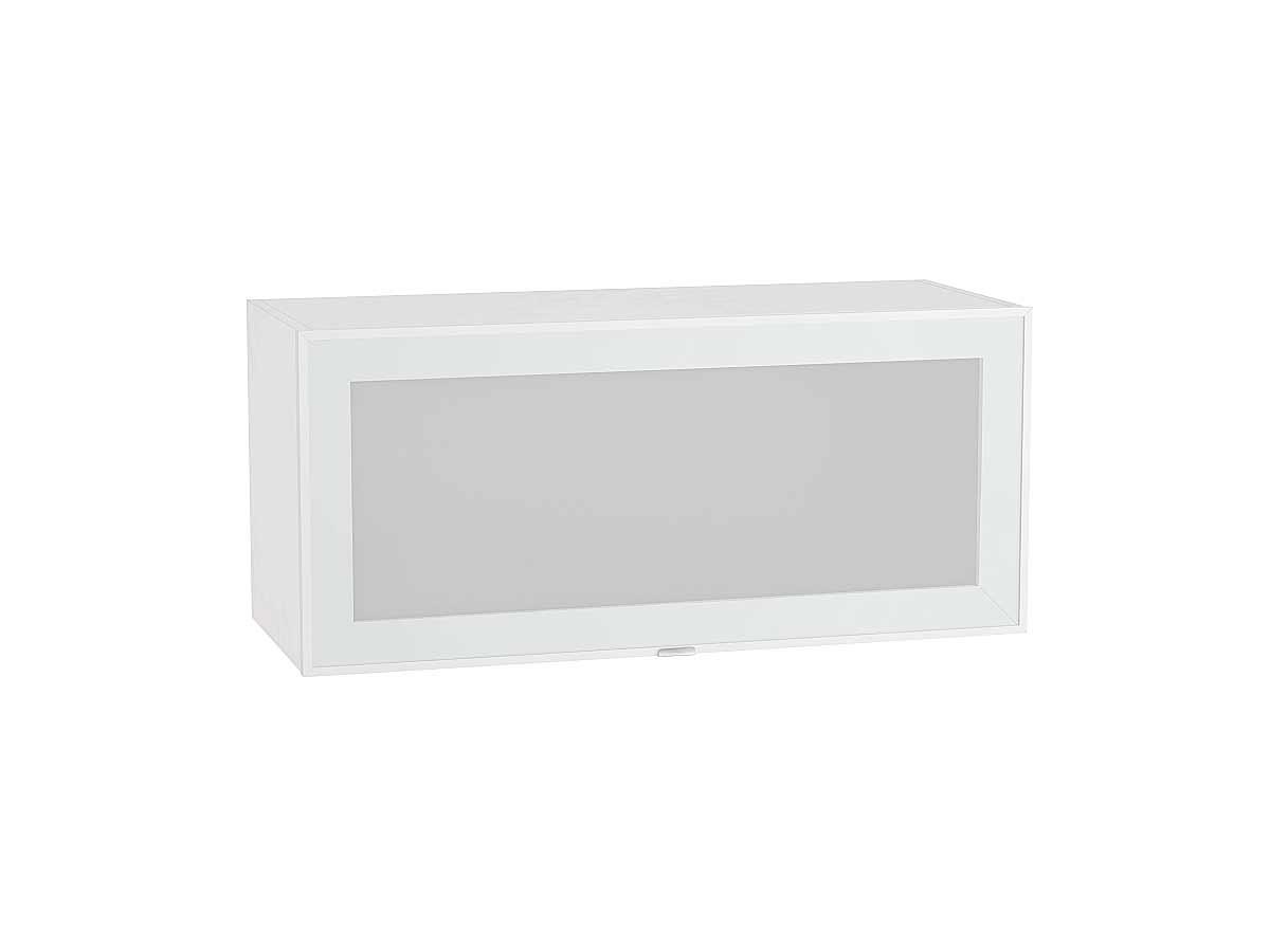 Шкаф верхний горизонтальный остекленный Фьюжн-AL 800