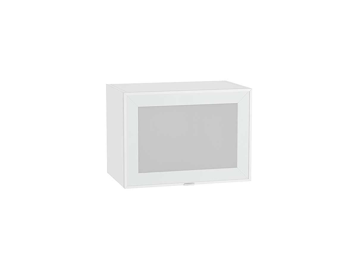 Шкаф верхний горизонтальный остекленный Фьюжн-AL 500