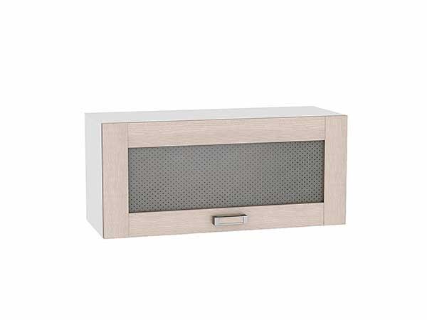 Шкаф верхний горизонтальный остекленный Лофт 800