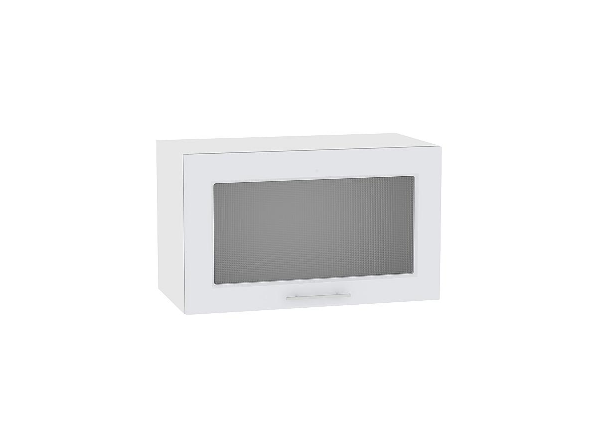 Шкаф верхний горизонтальный остекленный Ницца Royal 800