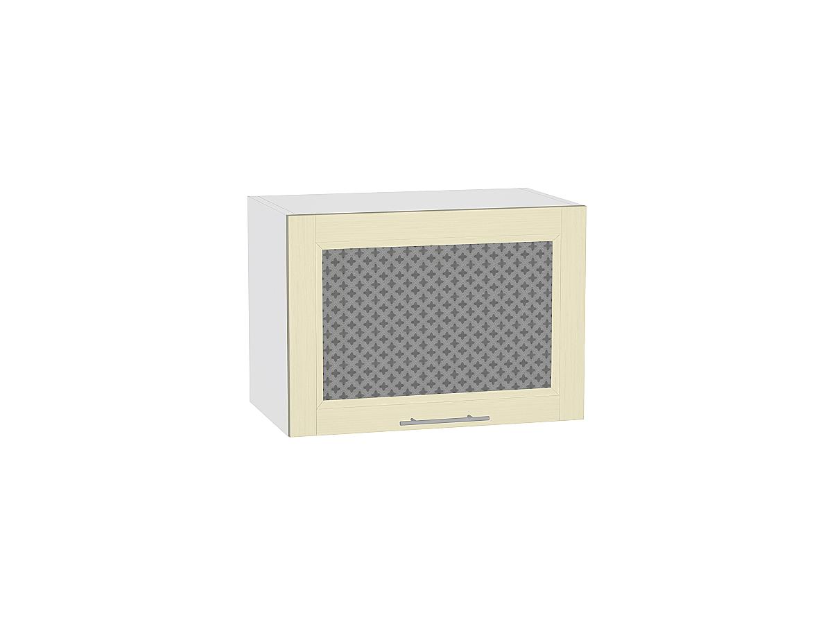 Шкаф верхний горизонтальный остекленный Сканди 500