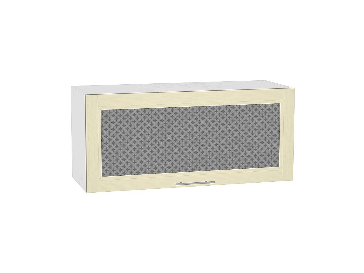 Шкаф верхний горизонтальный остекленный Сканди 800