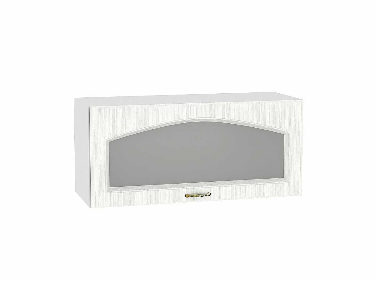 Шкаф верхний горизонтальный остекленный Верона 800