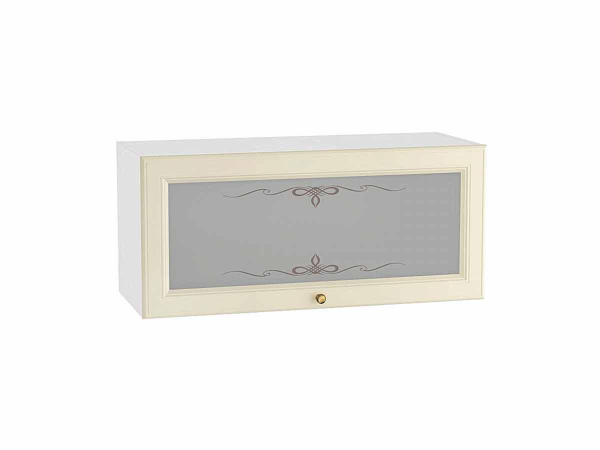 Шкаф верхний горизонтальный остекленный Версаль 800