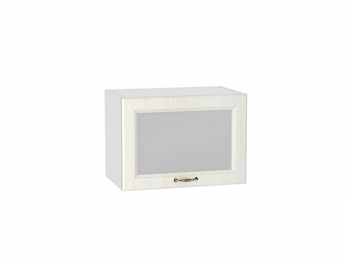 Шкаф верхний горизонтальный остекленный Виктория/500