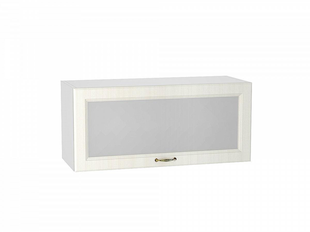 Шкаф верхний горизонтальный остекленный Виктория/800