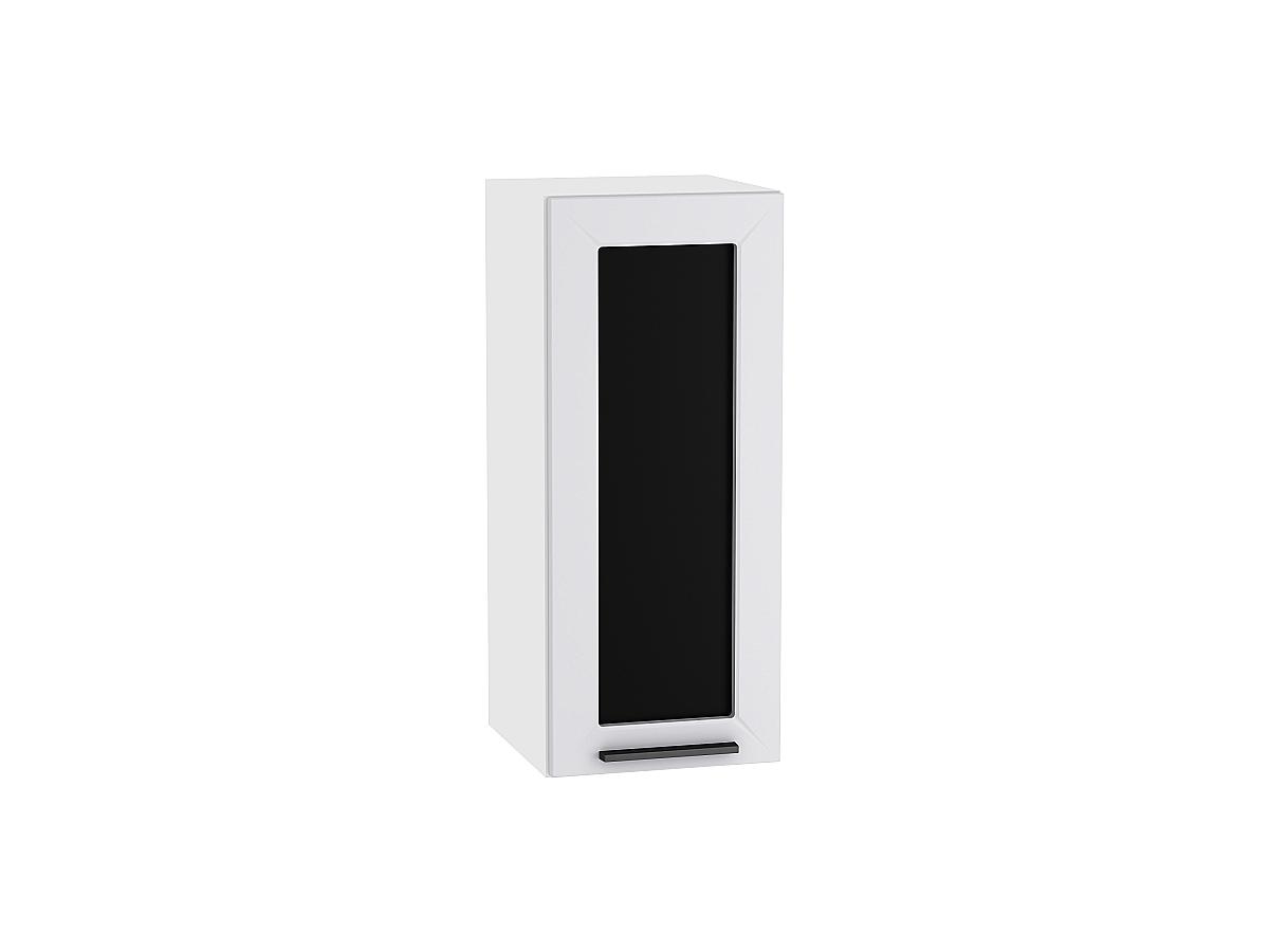 Шкаф верхний с 1-ой остекленной дверцей Глетчер 300