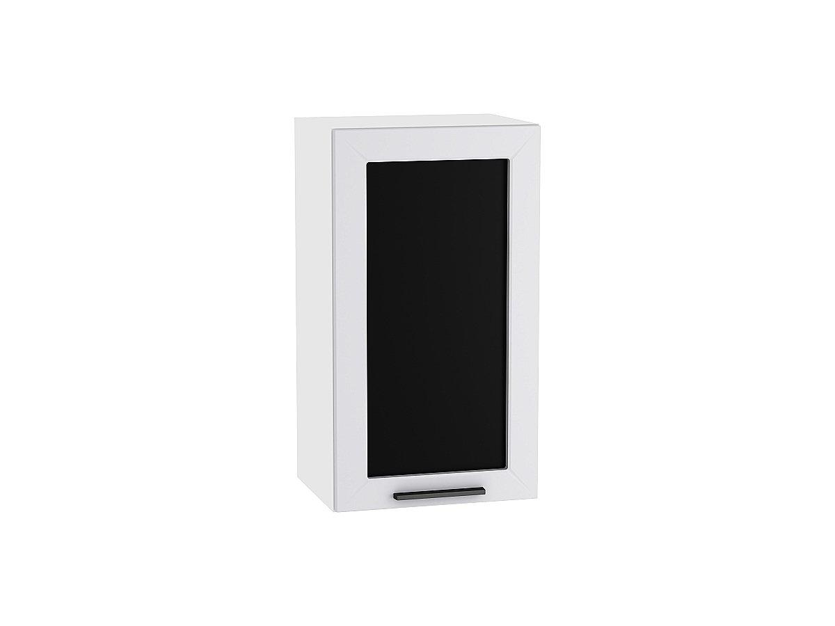 Шкаф верхний с 1-ой остекленной дверцей Глетчер 400