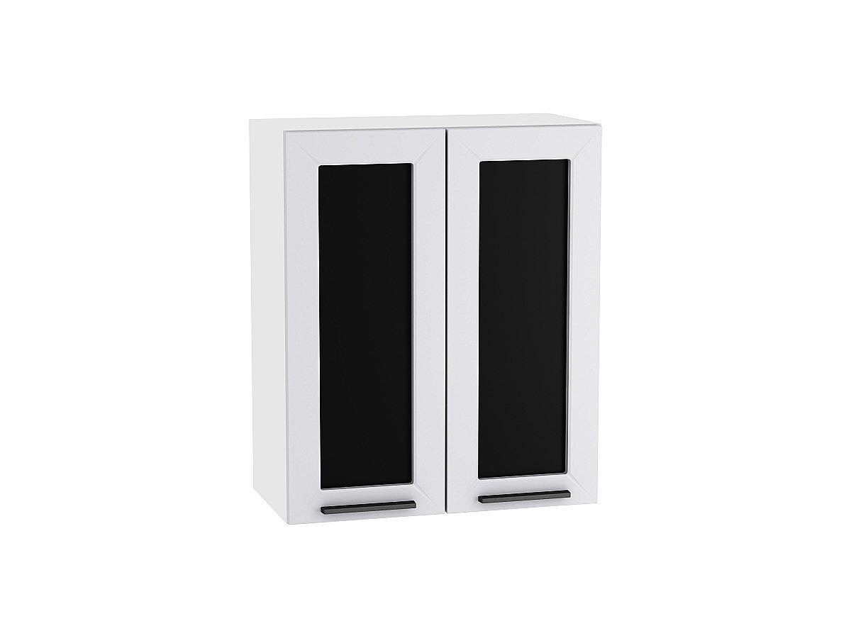 Шкаф верхний с 2-мя остекленными дверцами Глетчер 600