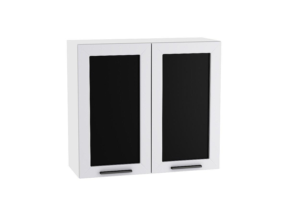 Шкаф верхний с 2-мя остекленными дверцами Глетчер 800