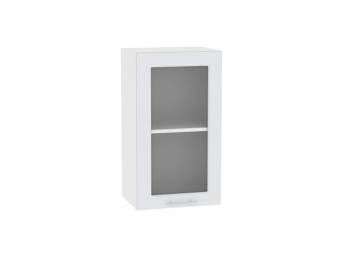 Шкаф верхний с 1-ой остекленной дверцей Ницца Royal 500