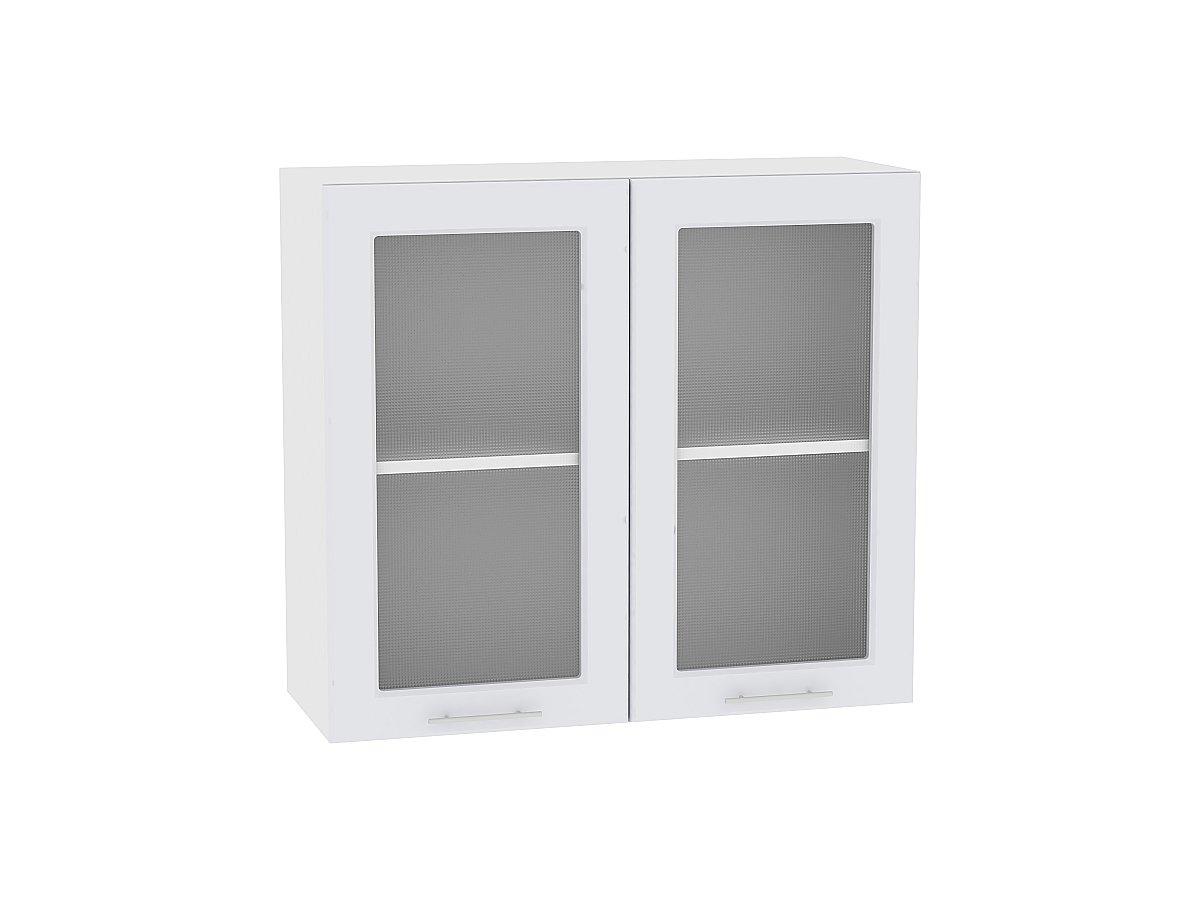 Шкаф верхний с 2-мя остекленными дверцами Ницца Royal 800