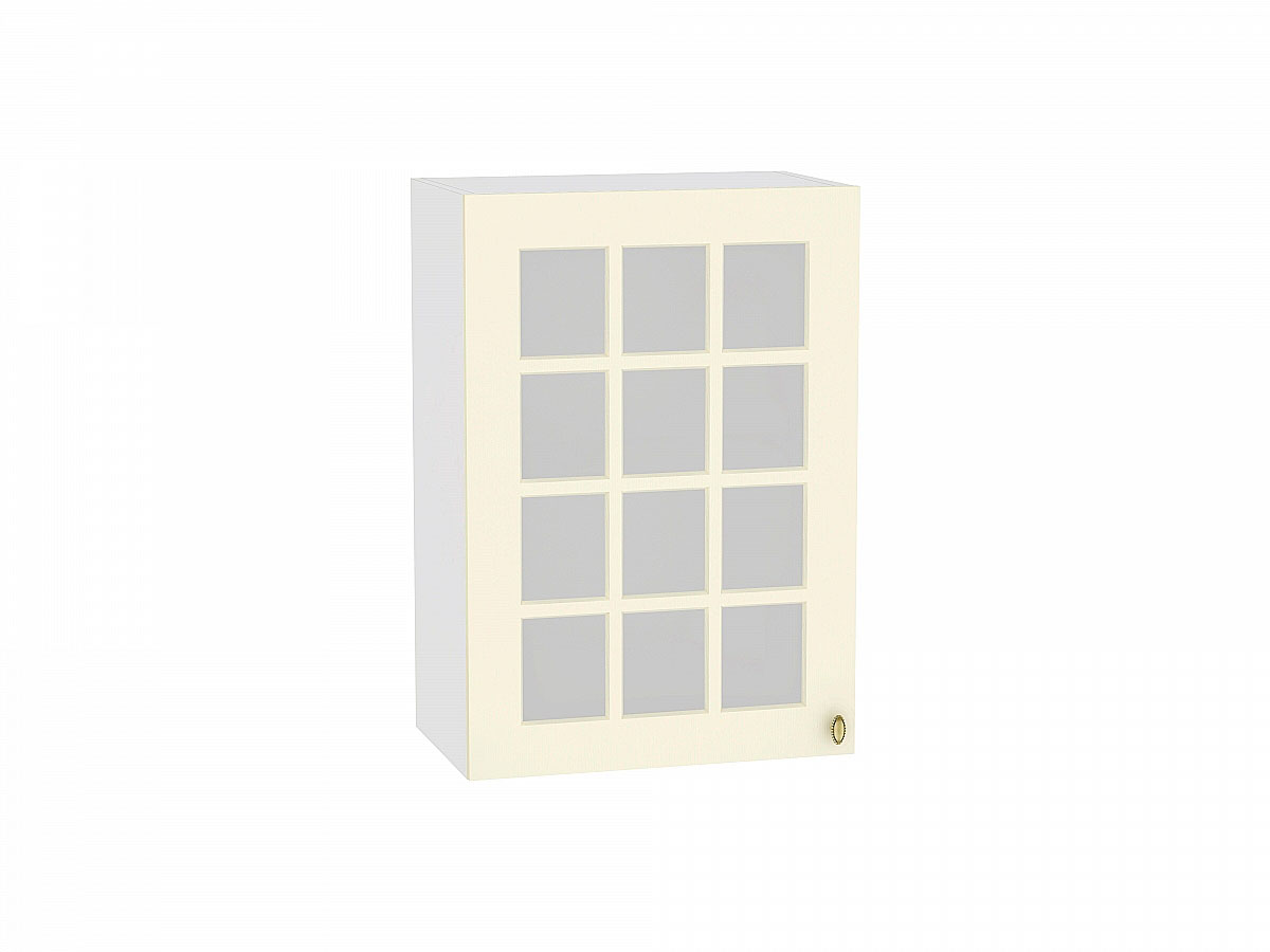 Шкаф верхний с 1-ой остекленной дверцей Прованс 500