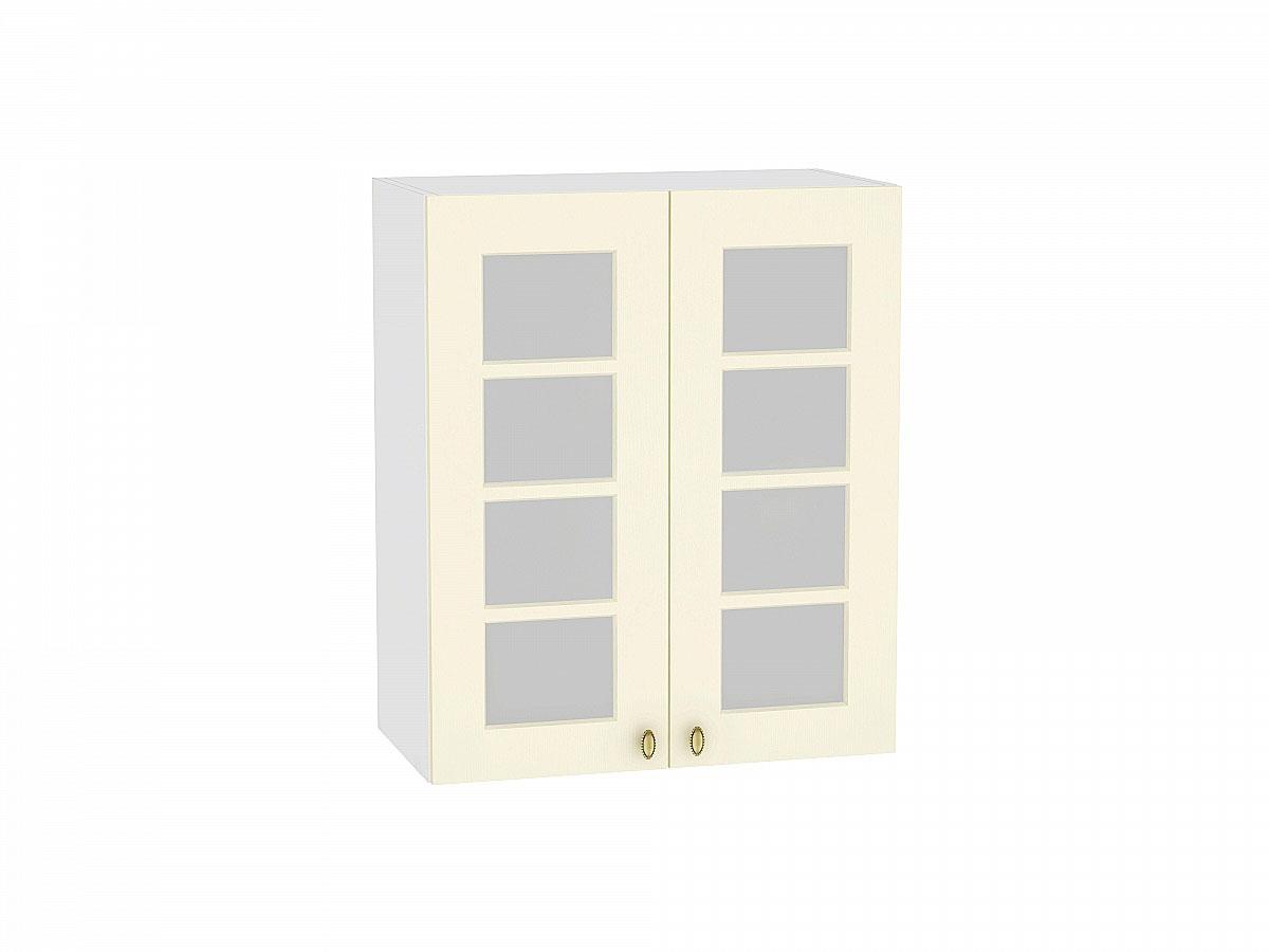Шкаф верхний с 2-мя остекленными дверцами Прованс 600