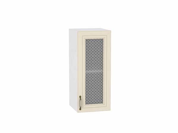 Шкаф верхний с 1-ой остекленной дверцей Шале 300