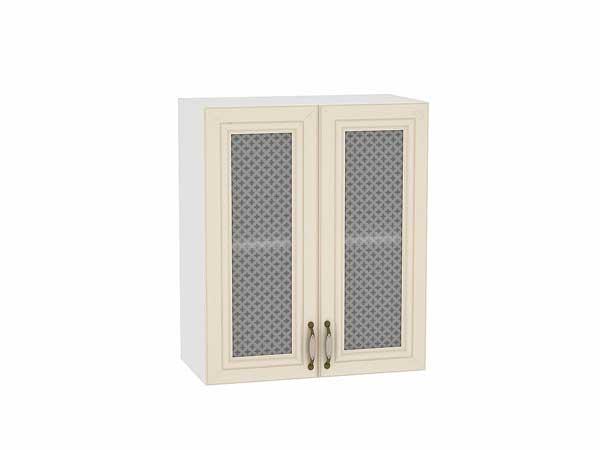 Шкаф верхний с 2-мя остекленными дверцами Шале 600