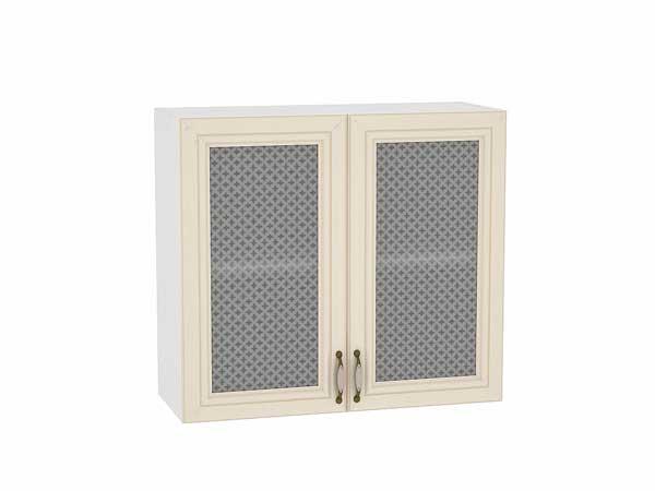 Шкаф верхний с 2-мя остекленными дверцами Шале 800
